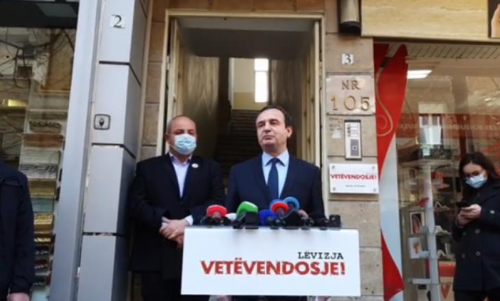 Kurti: Nuk bëjmë kompromis me presidentin, posti i takon Vjosa Osmanit