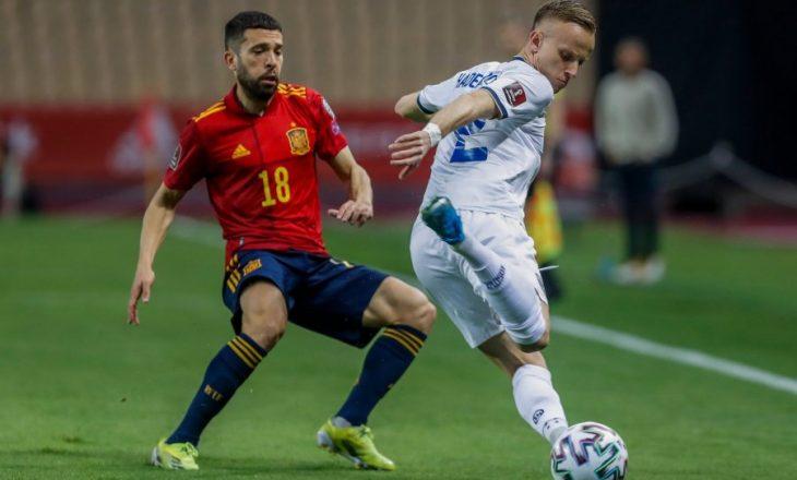 Kosova humb nga Spanja, Halimi shënon një gol të bukur nga distanca