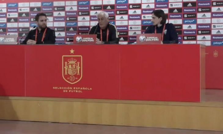 Challandes para sfidës ndaj Spanjës: Është nder dhe kënaqësi të luajmë kundër ekipit më të mirë në botë