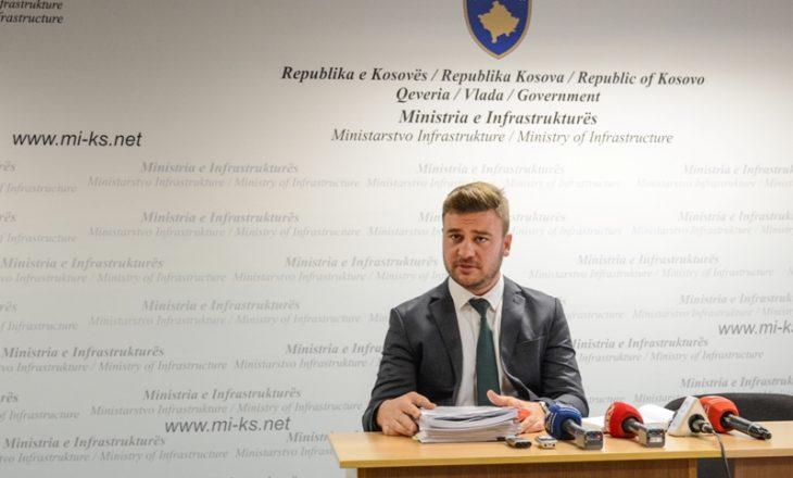 Betim Reçica më 15 mars në seancë gjyqësore për mashtrim në tenderin për autostradën e Gjilanit