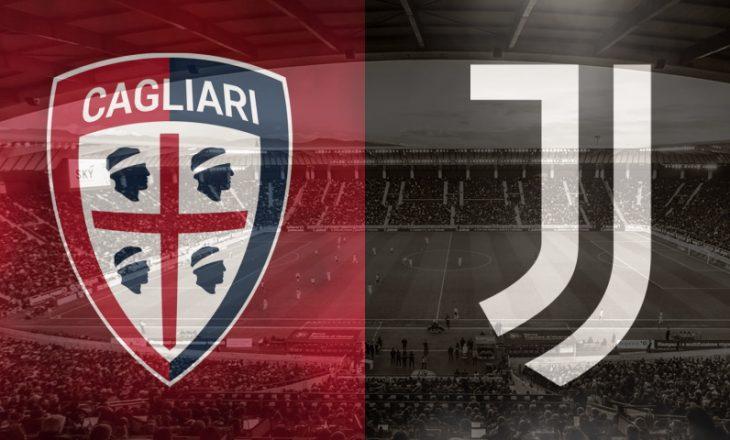 Cagliari vs Juventus – formacionet e sfidës në Serie A