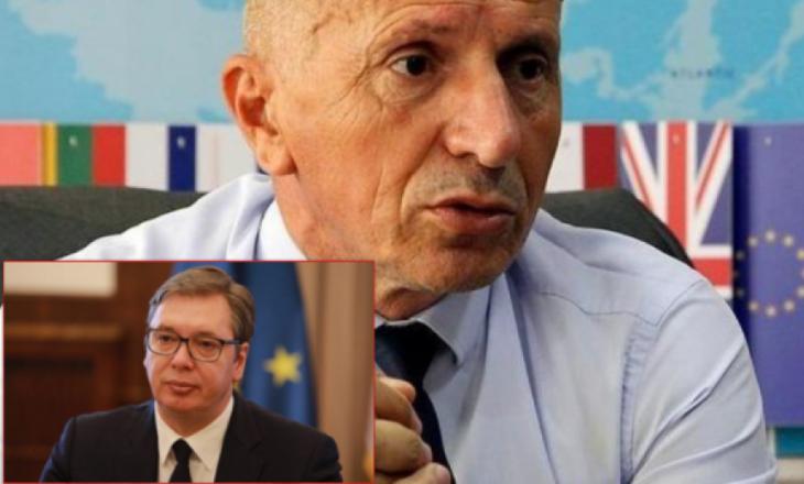 Shaip Kamberi i përgjigjet Vuçiqit për hartën e publikuar në Instagram