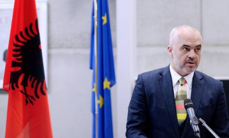 Kryeministri shqiptar në Bruksel