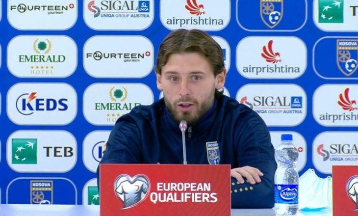 Zeneli para sfidës ndaj Suedisë: Kundërshtari ynë është i fortë dhe kanë lojtari klasi si Ibrahimoviç