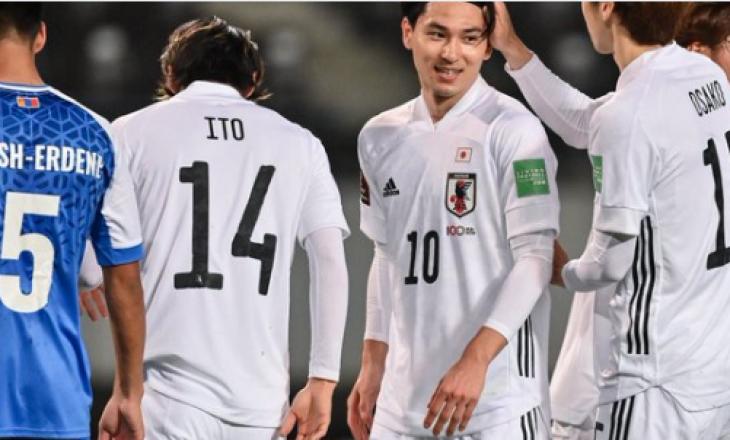 Japonia mposht me rezultat të lartë Mongolinë në kuadër të ndeshjes kualifikuese për Kupën e Botës