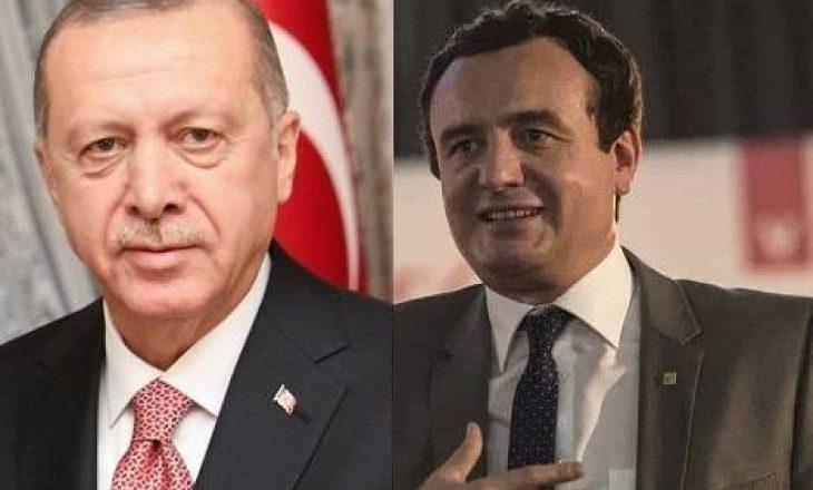 Erdogan i shkruan Kurtit: Do të ishte e dobishme ta rishqyrtoni ambasadën e Kosovës në Jerusalem