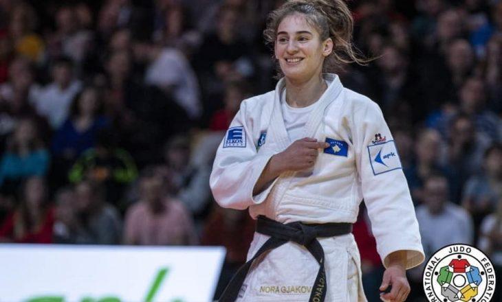 """Nora Gjakova kualifikohet në finale të """"Grand Slamit"""", reagon trajneri saj"""