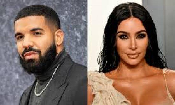 Drake nxit thashetheme për një aferë me Kim Kardashian