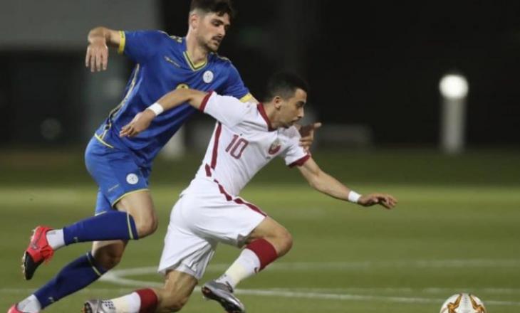 Kosova U-21 nuk ia del të mbajë epërsinë e dy golave, barazon me Katarin U23