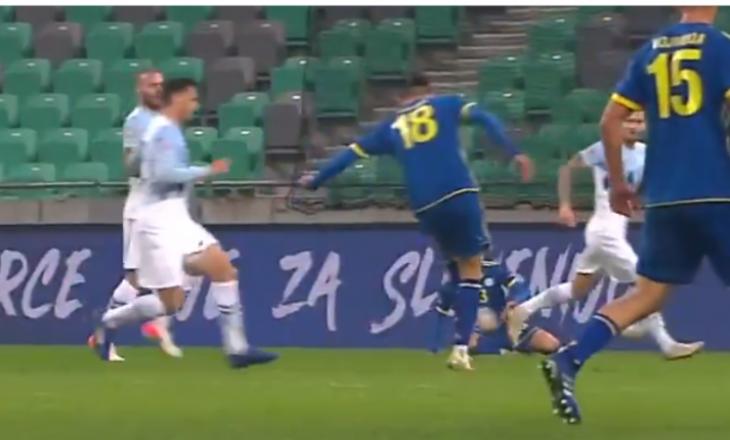 UEFA kërkon nga ndjekësit të vlerësohet me notë goli i Muriqit ndaj Sllovenisë