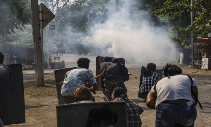 Shkon në 217 numri i personave që kanë humbur jetën në protestat e Mianmar-it