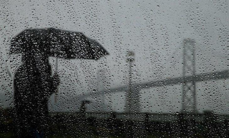 Sot ditë me shi e shkarkime rrufesh