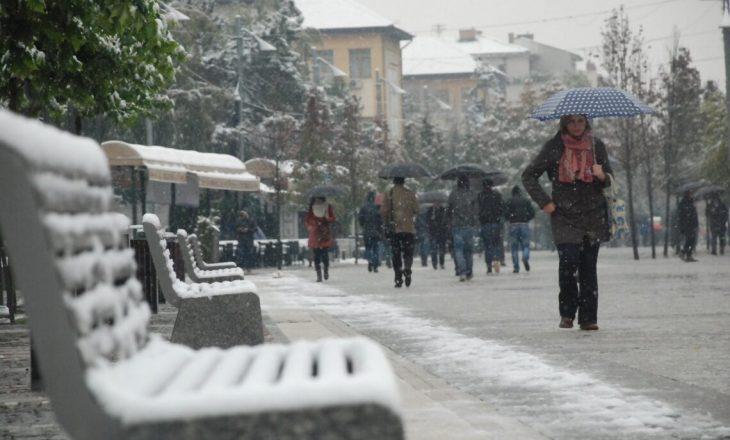 Reshje shiu e bore gjatë javës në Kosovë