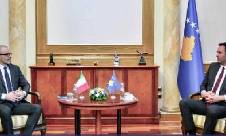 Orlando uron Konjufcën: Kosova ka mbështetjen italiane në rrugën euroatlantike