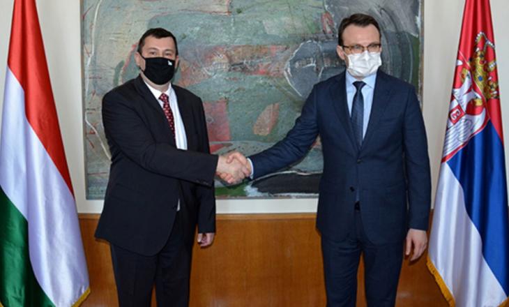 Petkoviq dhe ambasadori hungarez diskutojnë për dialogun dhe situatën politike në Kosovë