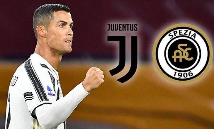 Juventus vs Spezia – formacionet zyrtare