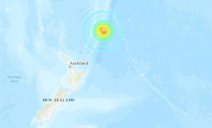 Një tërmet me magnitudë 8.1 ka goditur ishujt Kermadec të Zelandës së Re