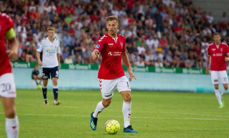 Ramadani vlerësohet me notë të lartë për golin e shënuar ndaj Copenhagen