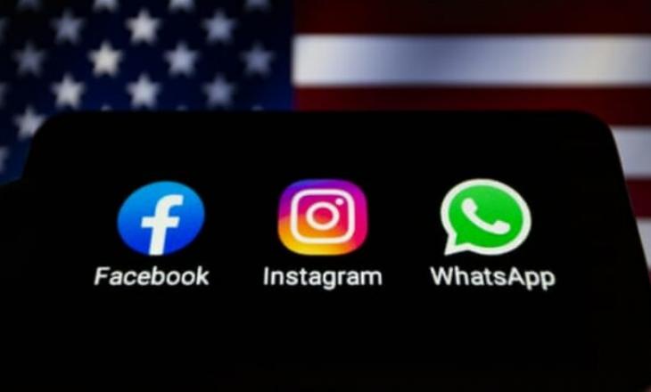 Bien Facebook, WhatsApp dhe Instagram