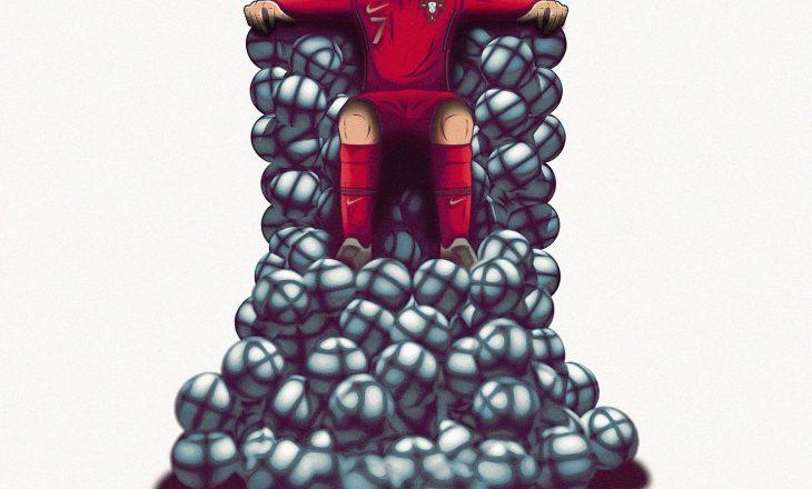 Sot Ronaldo përkujton një sukses