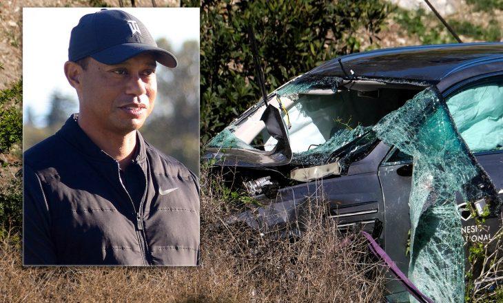 Ekspertët gjejnë shkaqet e aksidentit të golfistit Woods