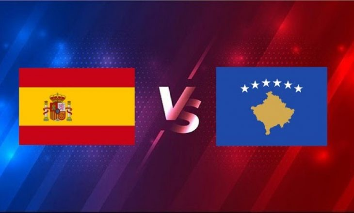 Spanjë vs Kosovë – formacionet zyrtare