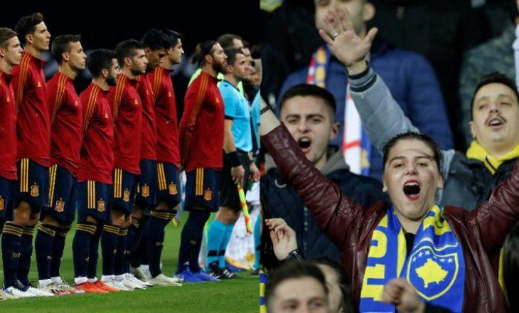 Televizioni publik spanjoll i drejtohet Kosovës si përfaqësuese futbolli