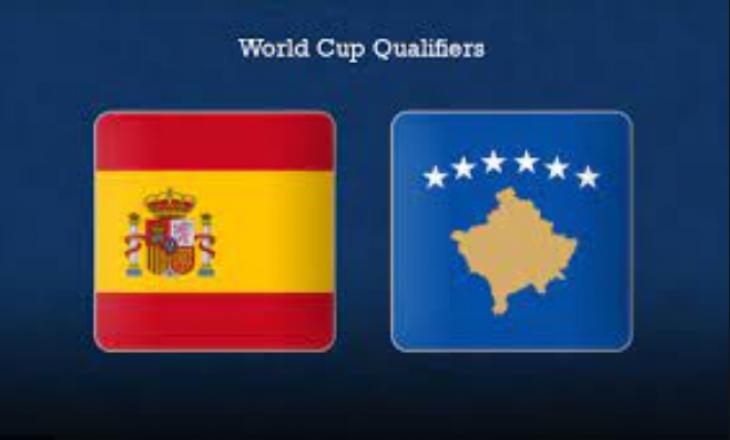 Sonte Kosova luan kundër Spanjës