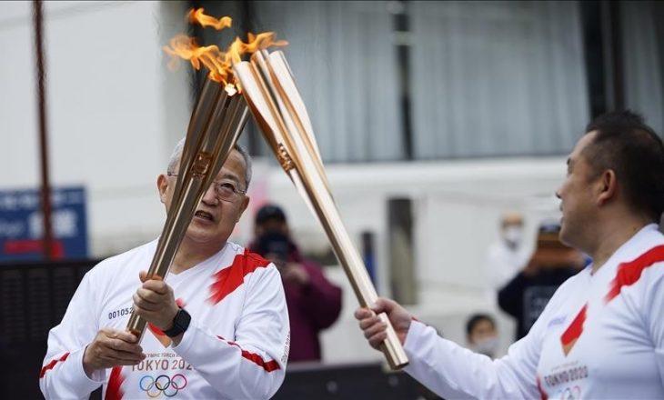 Stafeta e pishtarit për 'Lojërat Olimpike të Tokios' niset nga Fukushima e Japonisë