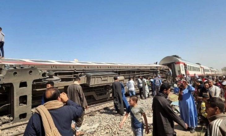32 persona të vdekur në një aksident të rëndë hekurudhor në Egjipt