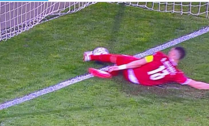 Pas golit të anuluar të Ronaldos, lojtari serb thotë se topi nuk e kishte kaluar vijën