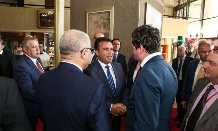 Kryeministri i Maqedonisë së Veriut uron Albin Kurtin