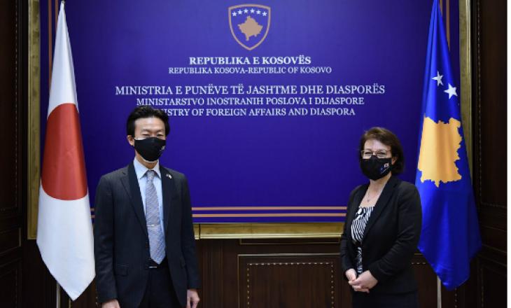 Gërvalla takohet me përfaqësuesin e Japonisë në Kosovë, flasin për bashkëpunimin ndërmjet dy shteteve