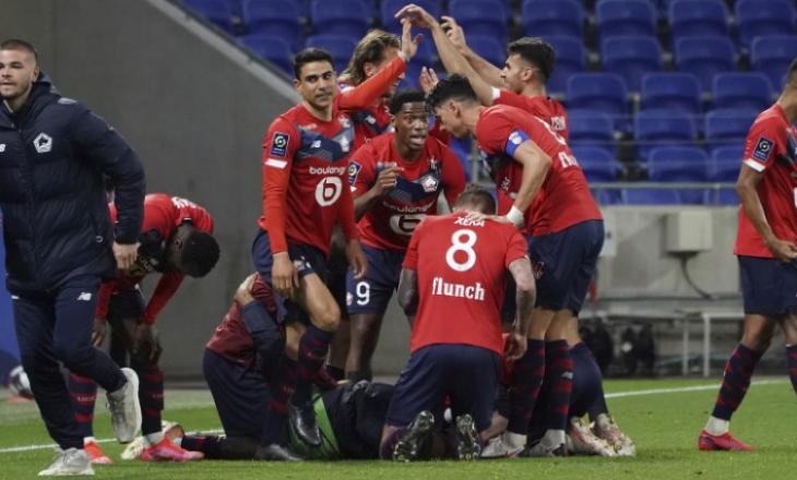 """Lille mposhti kundërshtarin direkt për titull, tash """"fyt për fyti"""" me PSG dhe Monaco-n"""