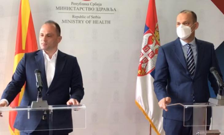 15 mijë shtetas të Maqedonisë së Veriut janë vaksinuar në Serbi