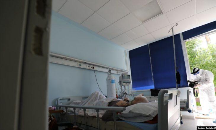 727 pacientë me COVID-19 po trajtohen në spitale