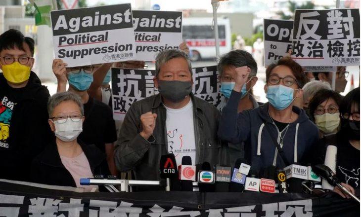 Hong Kongu dënon me burg aktivistët e demokracisë për protestë paqësore