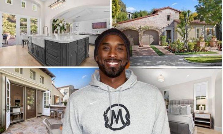 FOTO: Brenda shtëpisë ku dikur jetonte Kobe Bryant