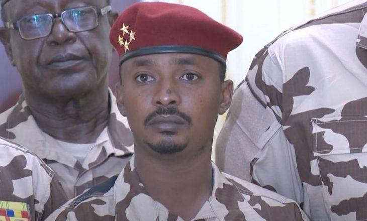 Mahamat Deby, djali i presidentit të vrarë të Çadit, merr detyrën e presidentit të vendit