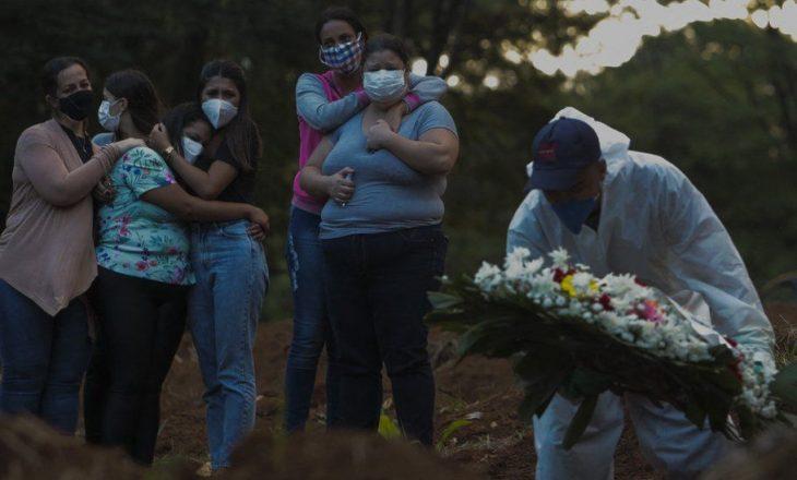 Për herë të parë, Brazili regjistron mbi 4 mijë viktima nga COVID-19