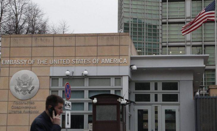 Në vazhdën e dëbimit të diplomatëve nga vendi, Rusia sot ka dëbuar 10 diplomatë amerikanë