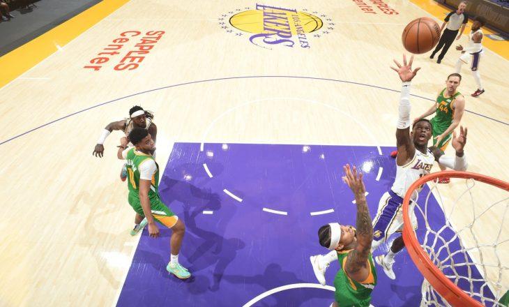Lakers mposht Utah Jazz pas vazhdimeve