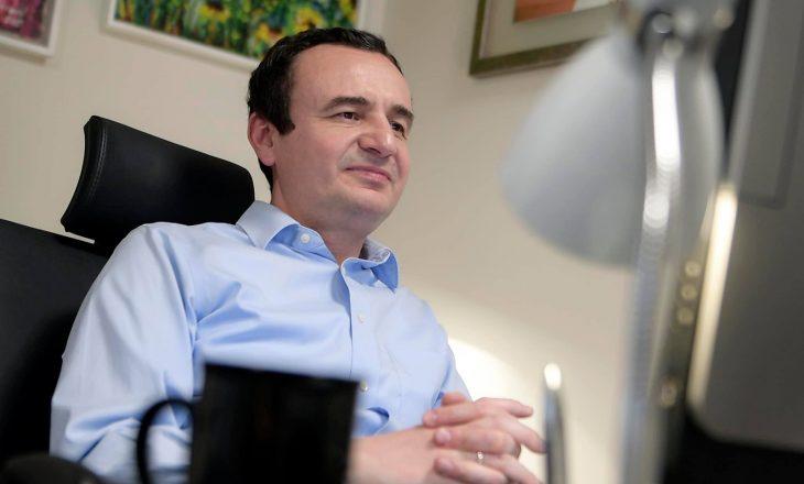 Kurti: Diaspora ka kontribuar në ekonominë e Kosovës dhe Shqipërisë