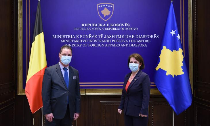 Gërvalla dhe shefi i misionit diplomatik të Belgjikës flasin për procesin e liberalizimit të vizave