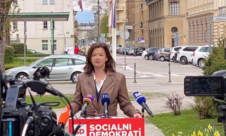 Fajon reagon pas publikimit të dokumentit për ndryshim kufijsh nga mediumi slloven