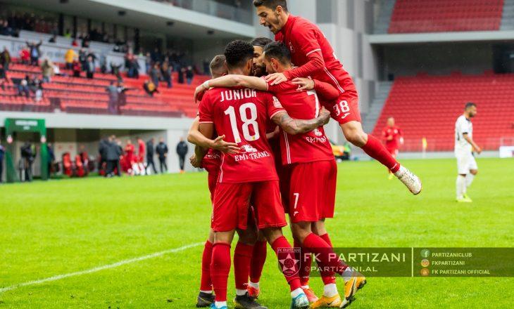Kukësi dhe Tirana luajnë baras, Partizani mposht Kastriotin
