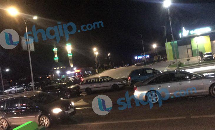 Katër vetura të përfshira në një aksident në Veternik (VIDEO)