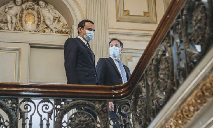 Qeveria jep detaje të reja nga takimi i Kurtit me homologun belg