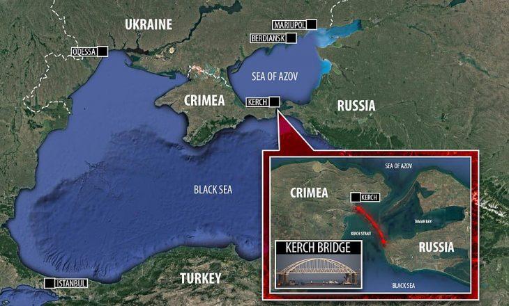 Tensione mes Ukrainës dhe Moskës në detin Azov