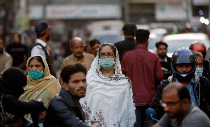 Pakistani regjistron numrin më të lartë të infektimeve me Coronavirus që nga korriku i vitit të kaluar